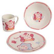 Set 3 piezas Peppa Pig