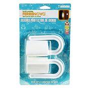 Set 2 seguros protector dedos bisagra 8.5cm