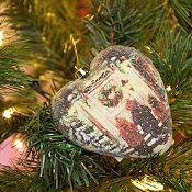 Adorno Árbol Coral/Esferas 7.5cm Taller de Santa