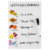 Pizarra Lista de compras 30x20 cm