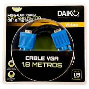 Cable de Video VGA con Filtro 1.8 m