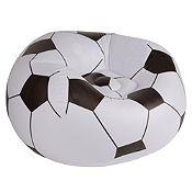 Sillón inflable fútbol