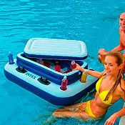 (Regular S/79.9) Flotador cooler 122x97 cm