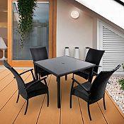 Juego de comedor Montenegro Bay 4 sillas
