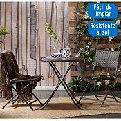 Juego de balcón Tobago 2 sillas