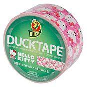 Cinta Duck 18.2 m Hello Kitty