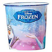 Papelera plástico Frozen