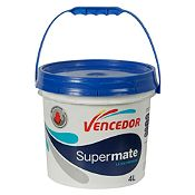 Látex Supermate Antimanchas Base Pastel Mate 1gl