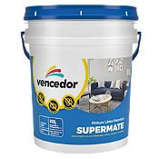 Látex Supermate Base Pastel Mate 5gl