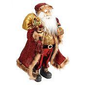 Santa con Bolso de Regalos 46cm