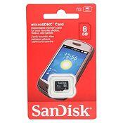 MicroSD HC Card 8 gb