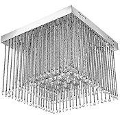 Lámpara colgante Cristal 12 luces