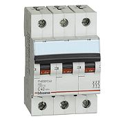 Interruptor Tipo Riel Trifásico 3x40A