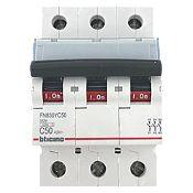 Interruptor t/riel Trifásico 3 x50 A