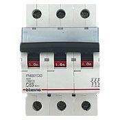 Interruptor Tipo Riel Trifásico 3x63A
