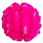 Lámpara colgante 1lz Lady 33cm rosada