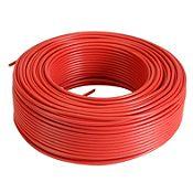 Alambre TW 10 AWG color rojo 100 mt