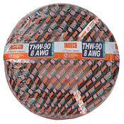 Cable THW 8 AWG 7 Hilos Negro