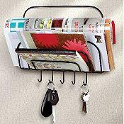 Organizador de llaves y mensajería