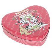 Navidad Disney corazón 17x16x4cm