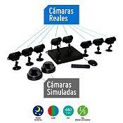 Kit 10 Cámaras de Seguridad + DVR de 8 Canales