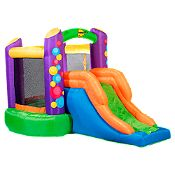 Inflable Bouncer con resbalín