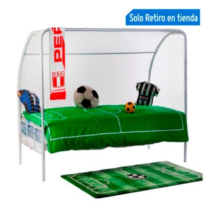 Cama football ronaldo for Sofa cama sodimac
