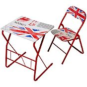 Escritorio London y silla plegable