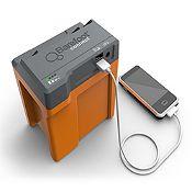 Cargador de Celular + 3 Lámparas LED y Batería 600