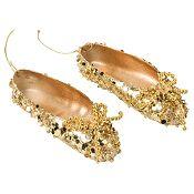 Zapato ballet oro 11cm