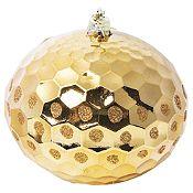 Esfera oro brillante 10cm