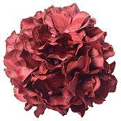 Flor color rojo 12cm