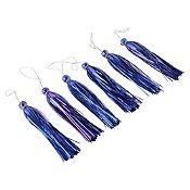 Set de colgantes azul y púrpura