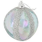 Esfera plateado 10cm