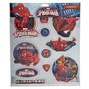 Sticker multicapas Spiderman
