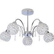 Lámpara de techo Pierina 5 luces