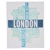 Cuadro London 40x50cm