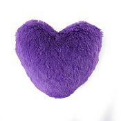 Cojín Corazón 45x45cm lila