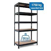 Estante metal 45x90x176cm 1750 kg