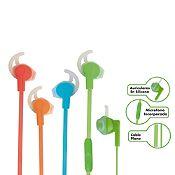 Audífonos de colores
