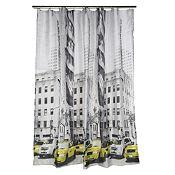 Cortina de baño Taxi 180x180 cm