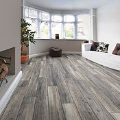 Piso Laminado Roble Gris 8mm