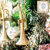 Set 2 trompetas surtido 12 cm