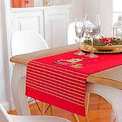 Camino de mesa rojo 40x140cm