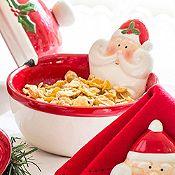 Bowl decorativo para dulces Santa dolomita 11cm