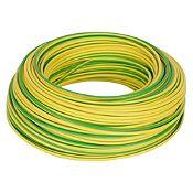 Cable LH 4 mm Verde / Amarillo x x 100 m