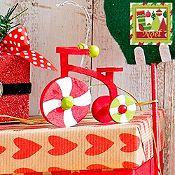 Triciclo Noel 8cm