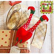 Pick decorativo pantalón de elfo noel 42.5cm