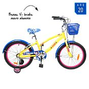 Bicicleta Eques Girls beige