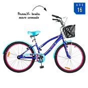 Bicicleta Eques Girls morada